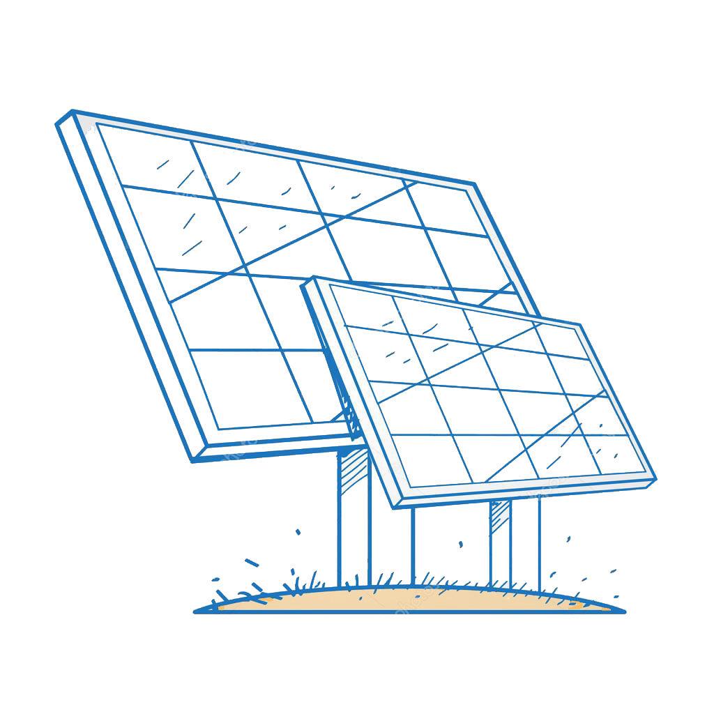 dessin-panneaux-solaires